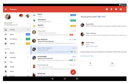 handy orten per gmail