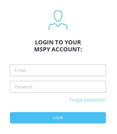 mspy login