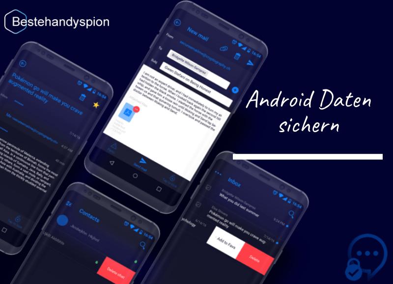 Android Daten sichern