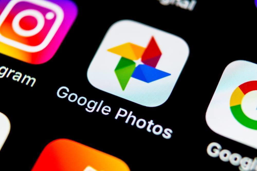 iPhone orten mit Google Fotos