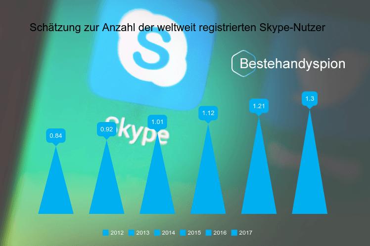 registrierte Skype-Nutzer