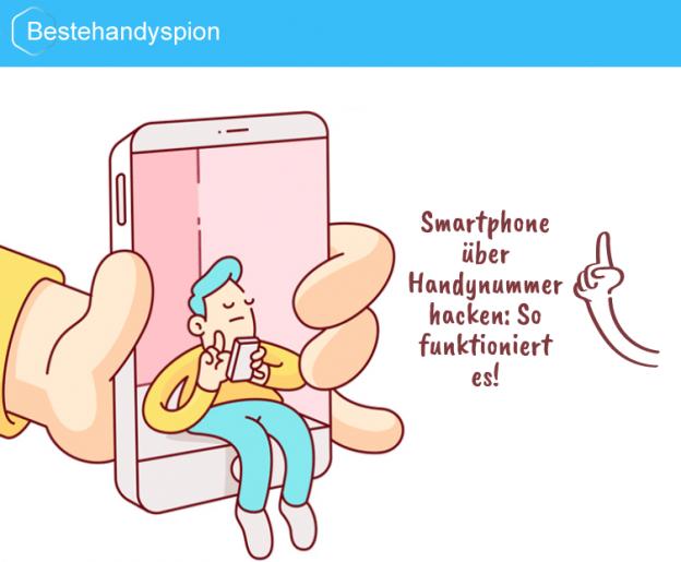 smartphone über handynummer hacken