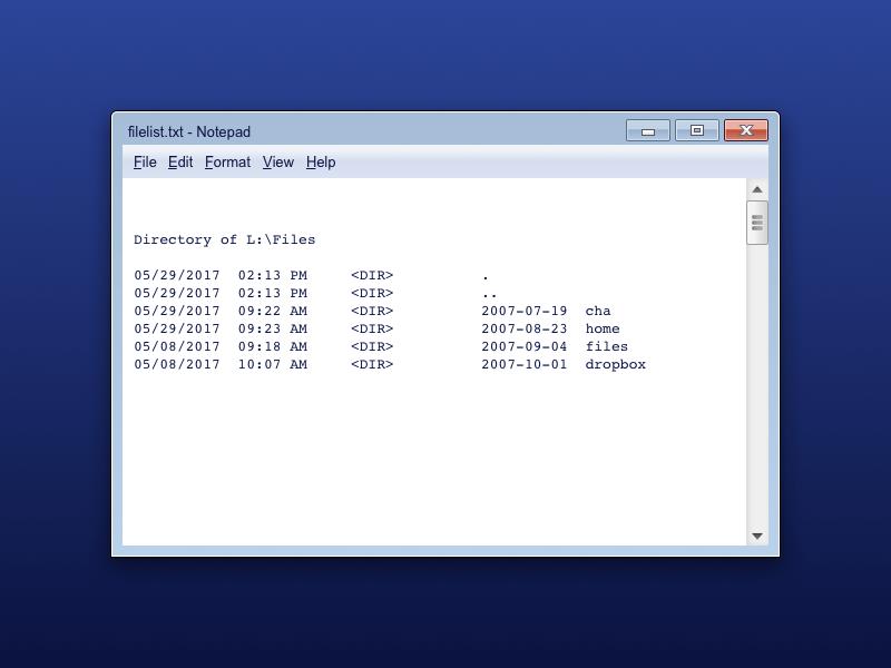 notepad windows