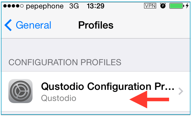 Qustodio profile